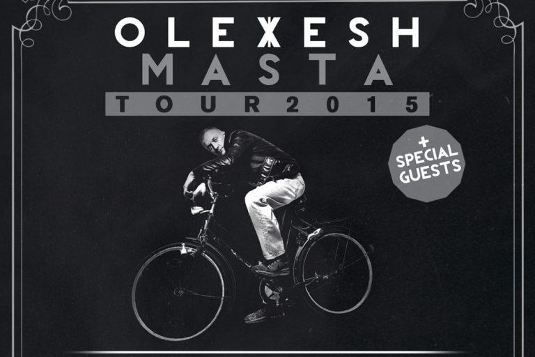Olexesh kommt auf »Masta«-Tour // live