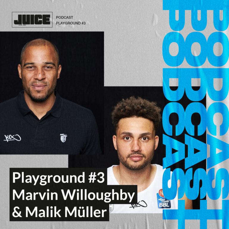 Playground #3 – Marvin Willoughby & Malik Müller von den Hamburg Towers // Podcast