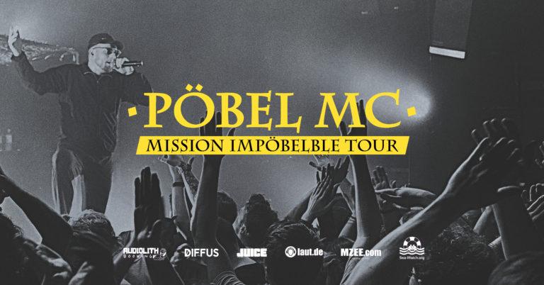 Mission Impöbelbe: Pöbel MC verschiebt seine Tour ins Jahr 2022 // Live