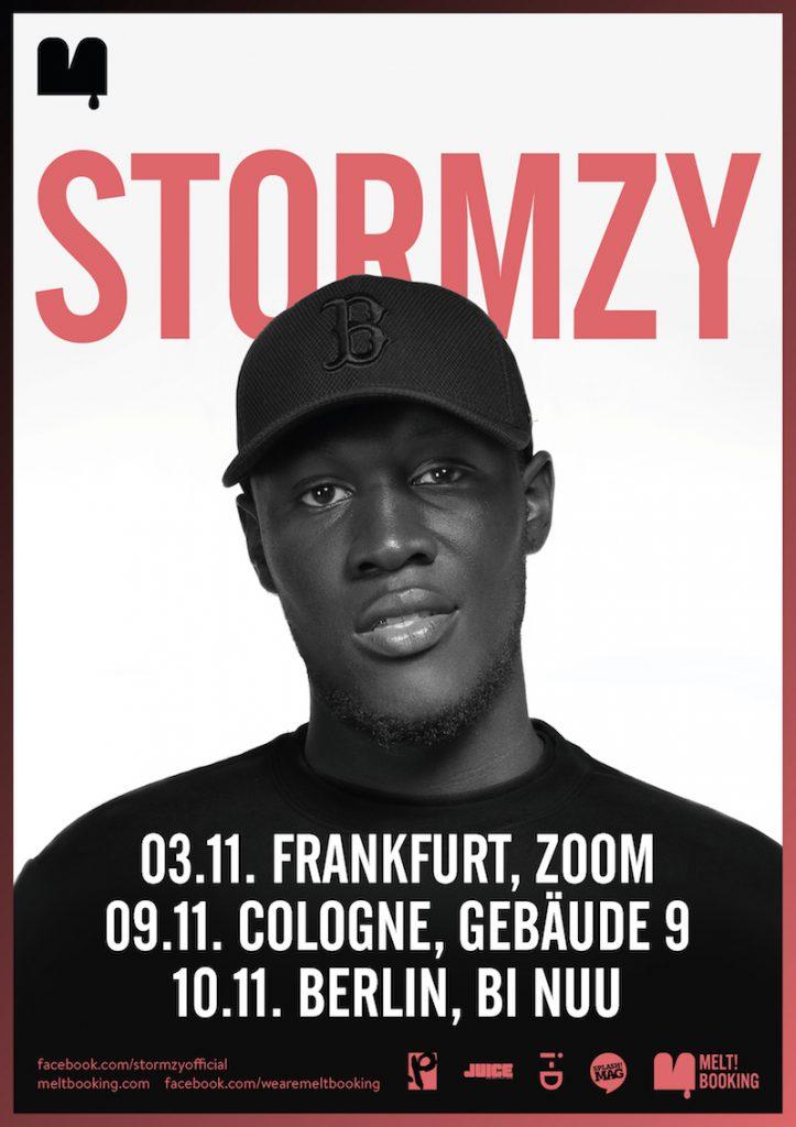Stormzy Webflyer