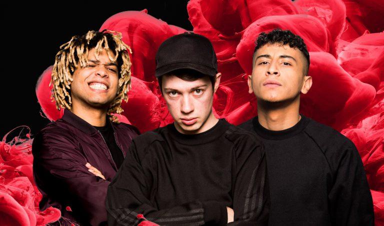 Crack Ignaz, LGoony und Soufian bilden das »Team New Level« beim Red Bull Soundclash // News