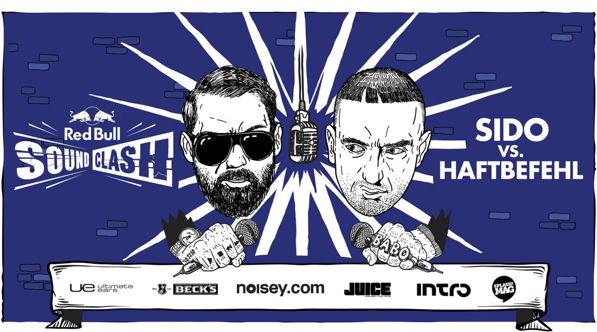 Red Bull Soundclash_Sido vs Haftbefehl_Illustration_Querformat-2