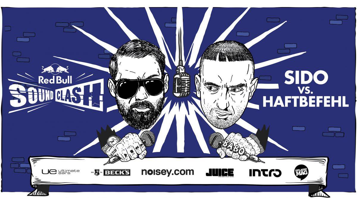 Red Bull Soundclash_Sido vs Haftbefehl_Illustration_Querformat-2