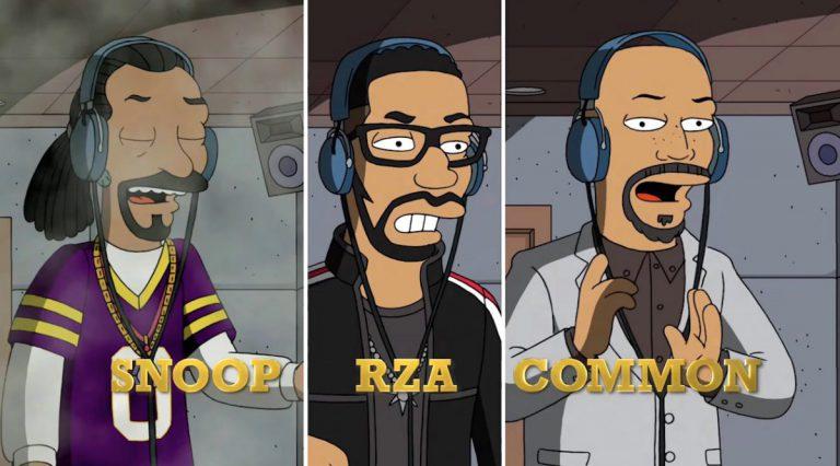 HipHop-Special bei den Simpsons mit Gastauftritten von u.a. RZA und Snoop // Trailer