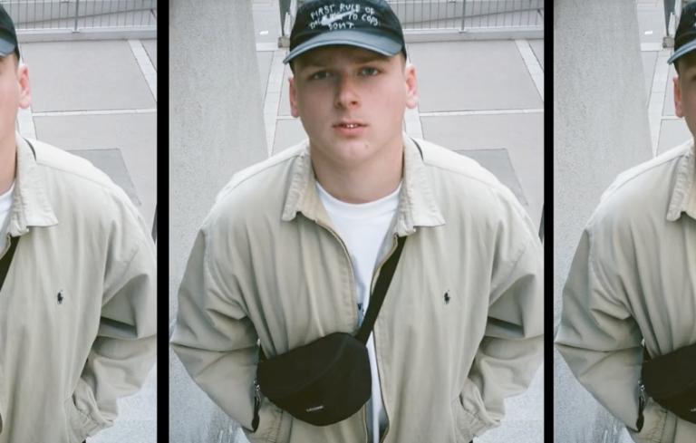 Rap-Export aus Wien: Slav mit »SKŁAD« // Video