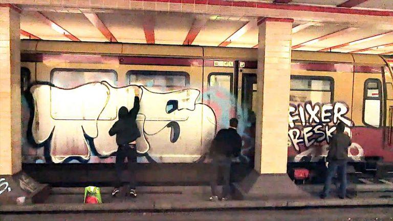 Graffiti-Lessons: Toys malen am Besten // Video
