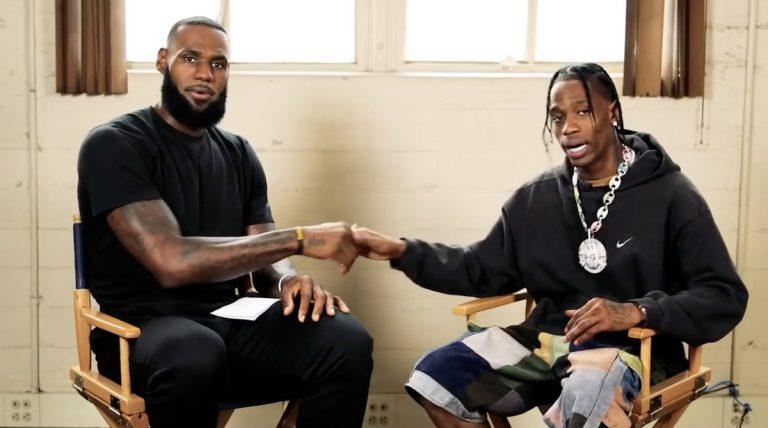 »I was in a zone of greatness«: LeBron James und Travis Scott über »Astroworld« und NBA 2K19 // Video