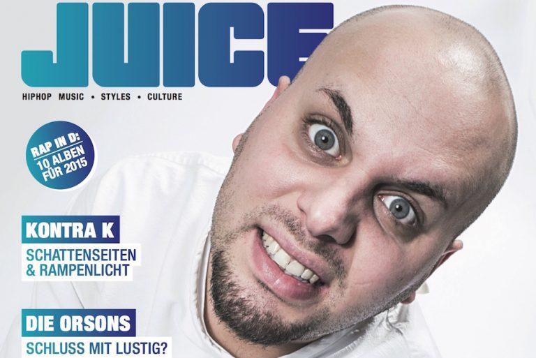 JUICE #165 mit Favorite-Cover und JUICE Exclusive EP »Dionysos« ab sofort erhältlich!