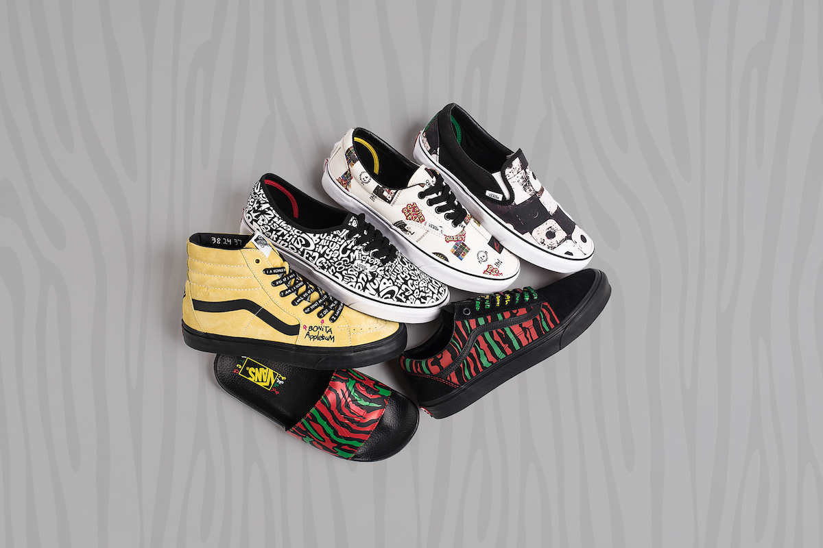 A Vans x A Tribe Called Quest Collection is Dropping This