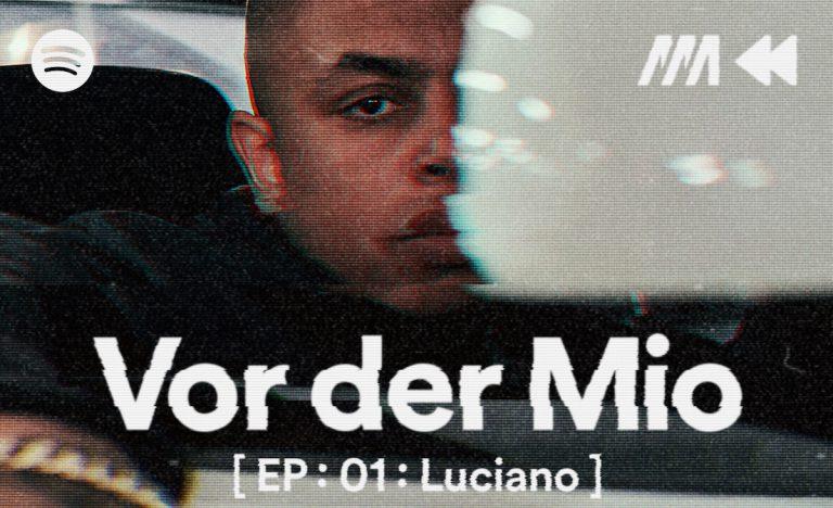 »Vor der Mio«: Luciano über seine Herkunft und seine kriminelle Vergangenheit // Podcast
