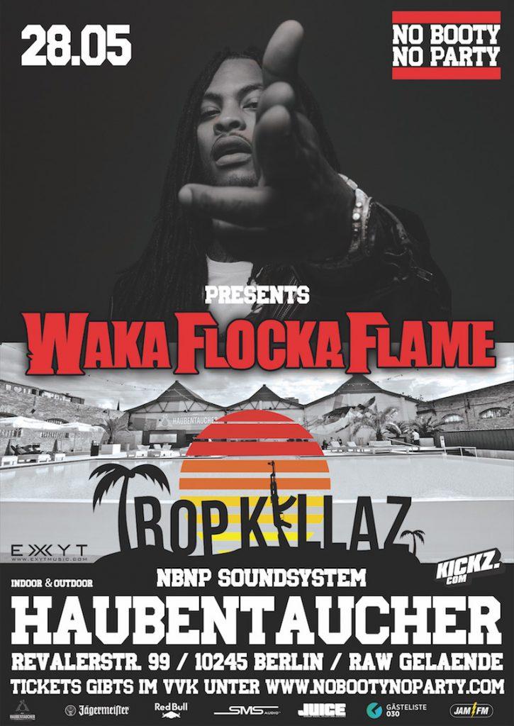 WAKA FLOCKA BERLIN Flyer