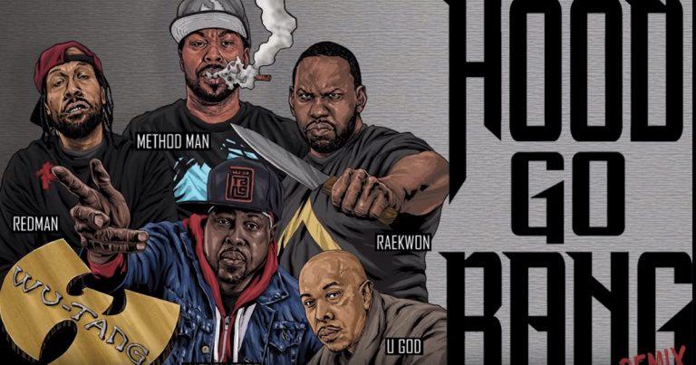 Method Man feat. Redman, Raekwon, U-God, Mathematics – Hood Go Bang! (Remix) // Track