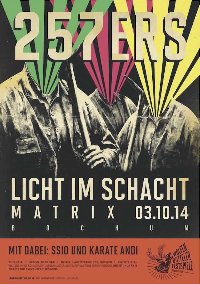 Wolfenbütteler Festspiele_Licht im Schacht_Plakat