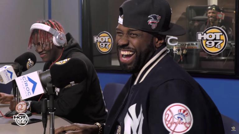 Real rap, no mumble? Lil Yachty unterzieht sich der Freestyle-Prüfung von Funk Flex // Video