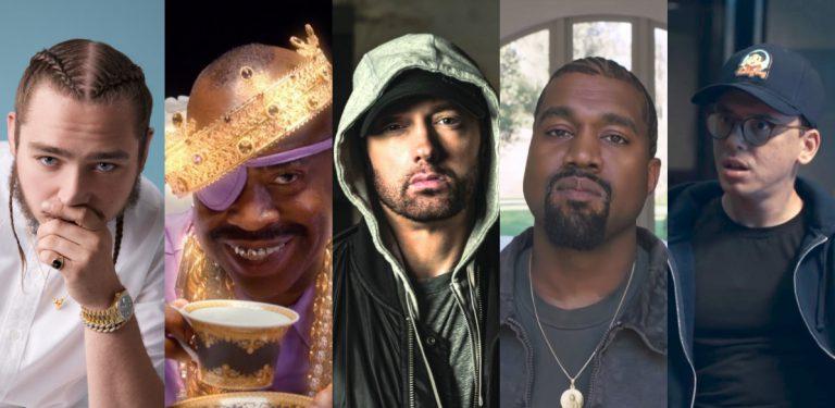 Die besten US-Releases vom Wochenende mit Eminem, Kanye West, Post Malone, Logic u.v.m // Liste