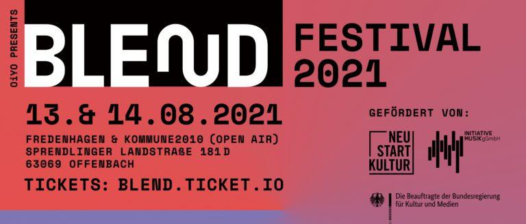 BLEND Festival: Megaloh, Sichtexot, Döll, Die P u.v.m. kommen nach Offenbach // Live