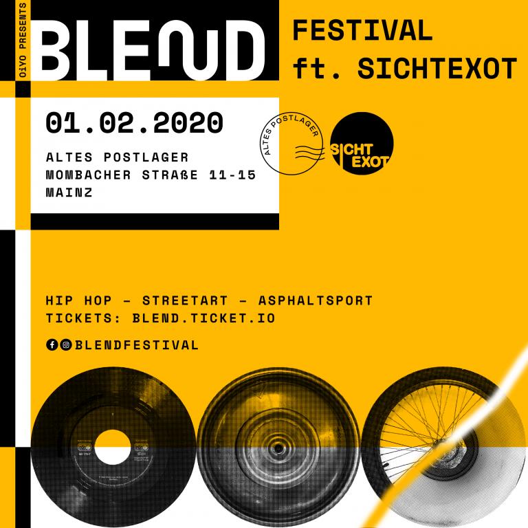 Blend x SXT: OG Keemo, Mädness, Nepumuk u.v.m spielen in Mainz // Live