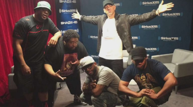 Eminem – Freestyle @ Sway in the Morning