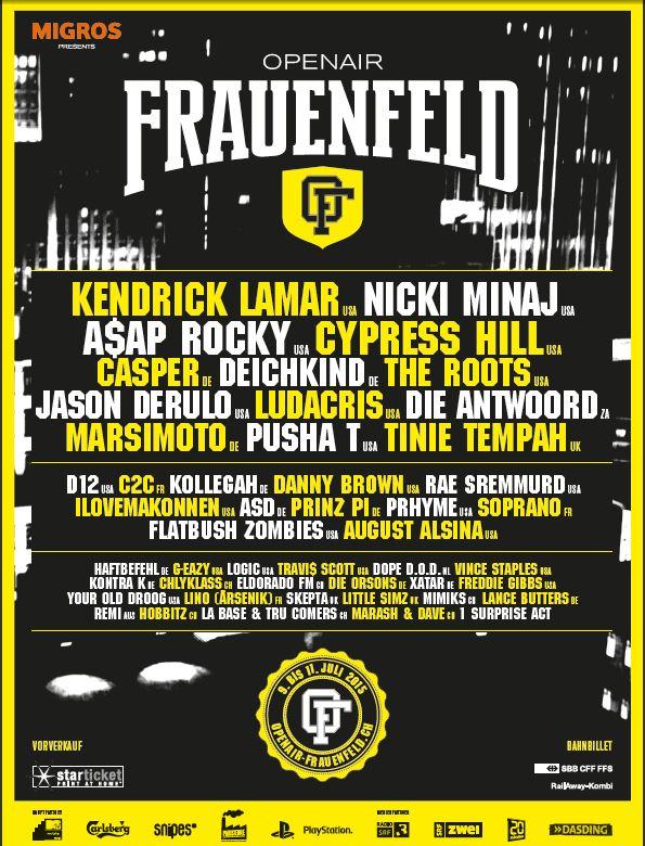 frauenfeld lineup