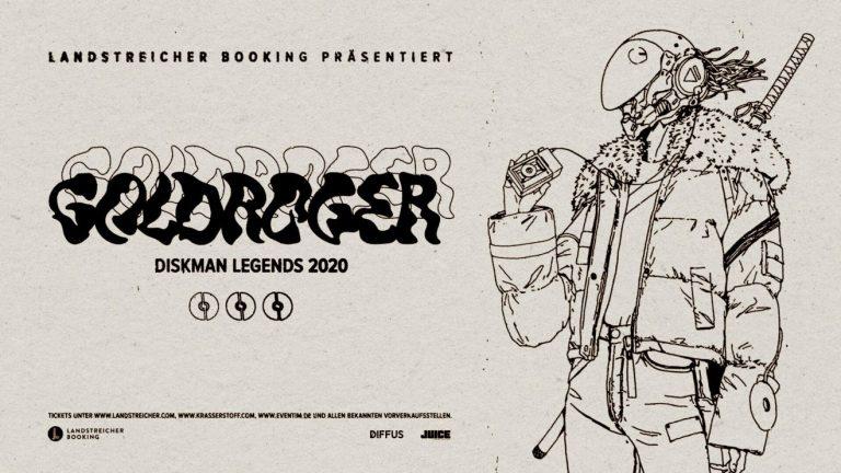 Von Antishock zu Legends: Goldroger spielt eine neue Tour // Live