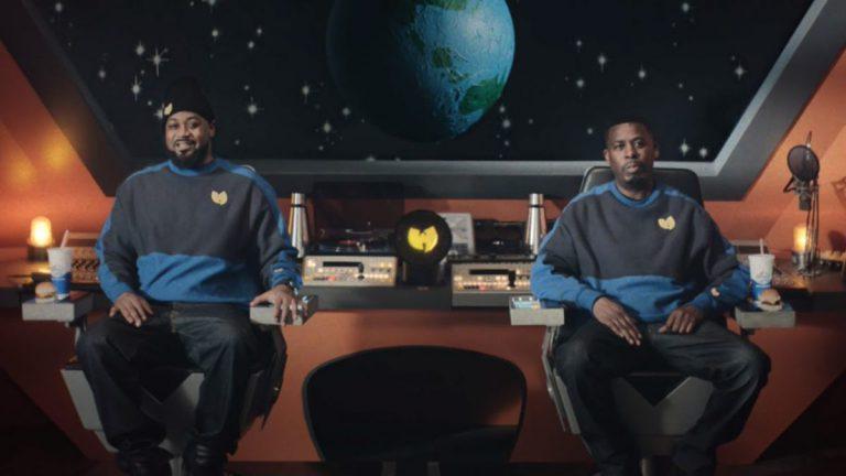 Enter the space: Der Wu-Tang Clan isst Burger im Weltraum // Video
