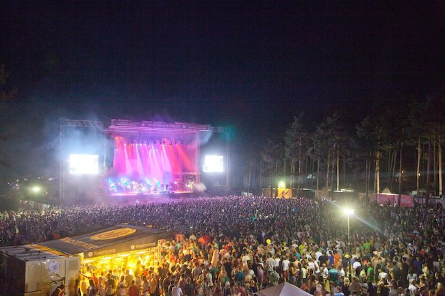 helene beach festival mainstage 2013