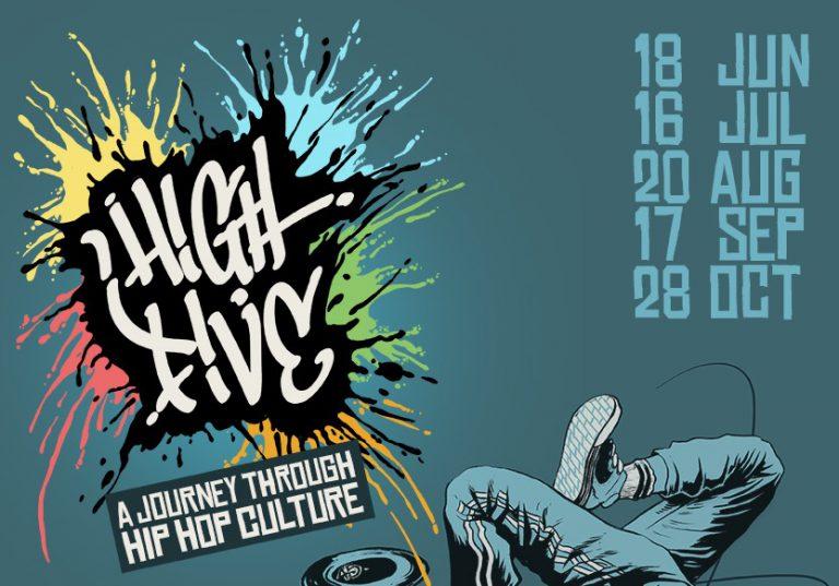 High Five – A Journey through Hip Hop Culture: Veranstaltungsreihe mit Workshops in Berlin // Live