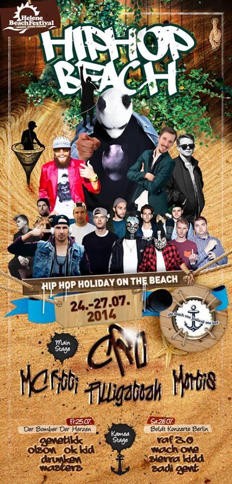 hip hop beach 2014 HELENE SEE