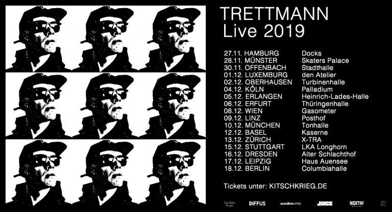 Trettmann geht auf große »Trettmann«-Tour // Live