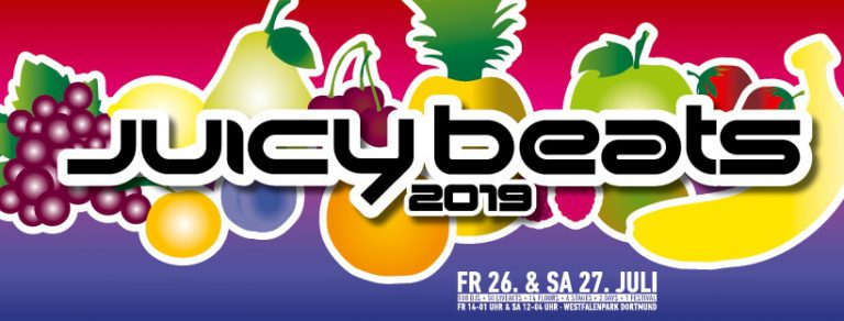 Juicy Beats 2019: Trettmann, Ufo361, Dendemann u.v.m. kommen nach Dortmund // Live