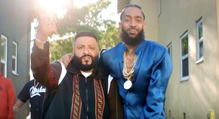 »Father of Asahd«: DJ Khaled mit einem der letzten Nipsey-Hussle-Auftritte // Video