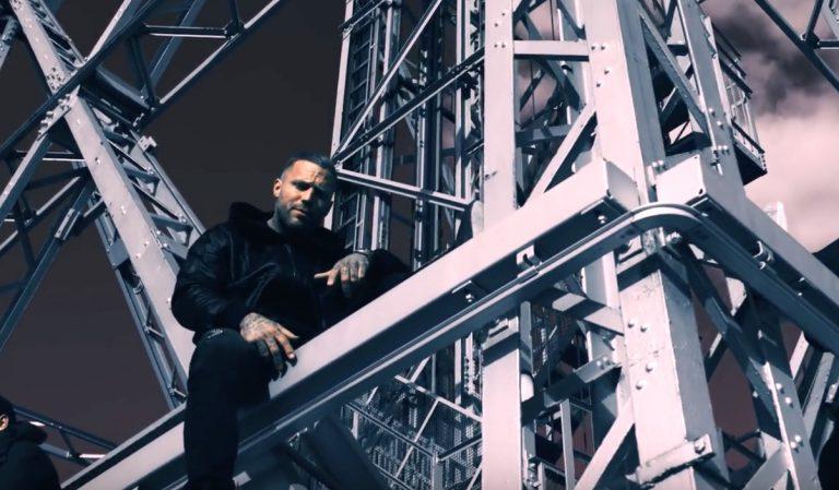Deutsche Eiffelturm? Kontra K steigt auf »Letzte Träne« in windige Höhen// Video