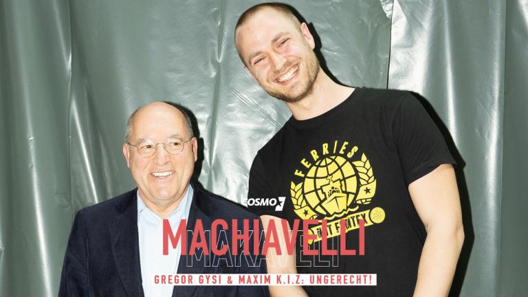 »Machiavelli« geht in Runde 2: Erste Folge mit Gregor Gysi und Maxim K.I.Z. // Podcast