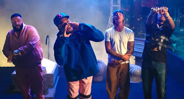 DJ Khaled feat. Chance The Rapper, Quavo & Justin Bieber – No Brainer // Video