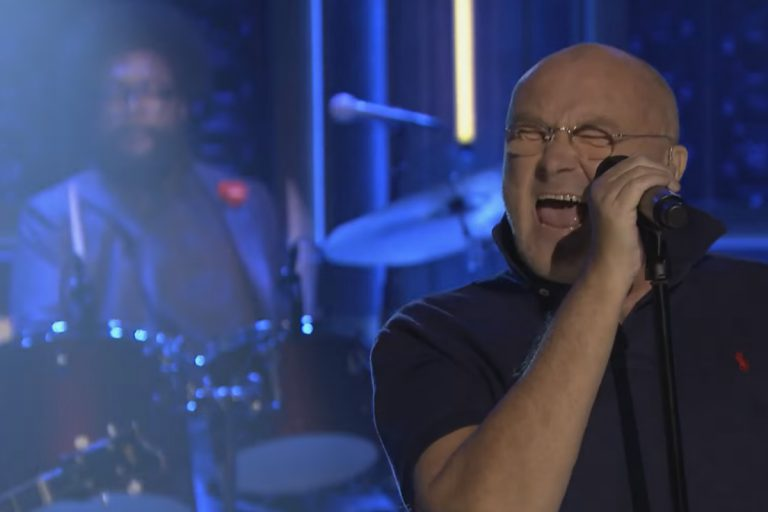 Phil Collins & The Roots – In the Air Tonight (Live At Jimmy Fallon) // Video