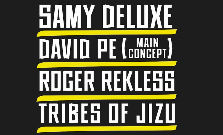 Freestyle Live Sessions: Samy Deluxe, David Pe & Roger Rekless gehen mit Tribes of Jizu auf Tour // Live