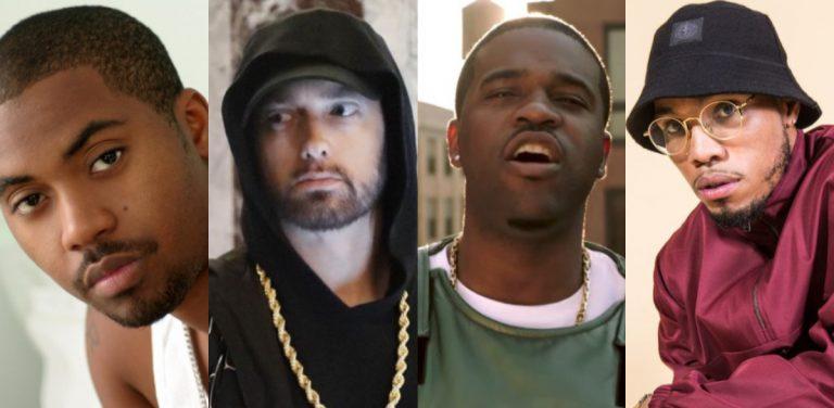 Die besten internationalen Releases mit Eminem, Nas, A$AP Ferg u.v.m. // Liste