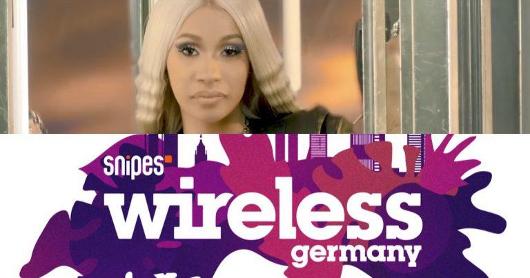 Cardi B kommt zum Wireless Festival 2019 // Live