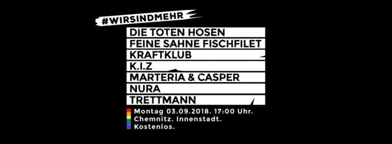 #wirsindmehr: das Soli-Konzert mit Casper, Marteria, K.I.Z. u.v.m. jetzt live! // Video