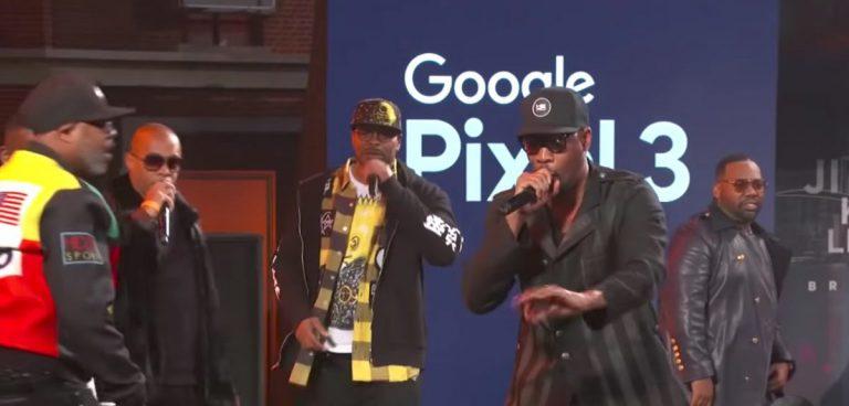 Jimmy Kimmel bringt den kompletten Wu-Tang Clan zusammen // Video