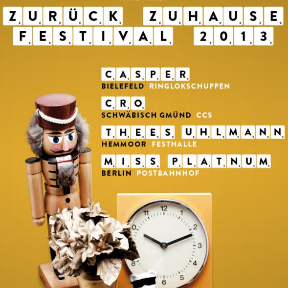 Zurück Zuhause Festival: Casper, Cro, Thees Uhlmann & Miss Platnum live